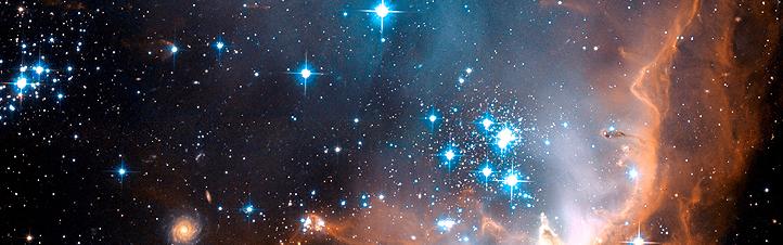 Die Kleine Magellansche Wolke – eine der Nachbar-Galaxien unserer Milchstraße.Bild: NASA, ESA, STScI