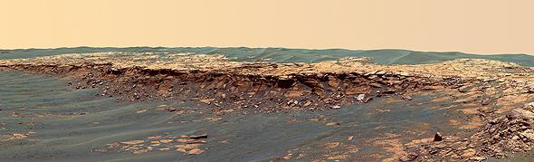 Die Mars-Rover Spirit und Opportunity haben viele Aufnahmen der Mars-Oberfläche übermittelt. Bild: NASA, JPL, Caltech, USGS, Cornell