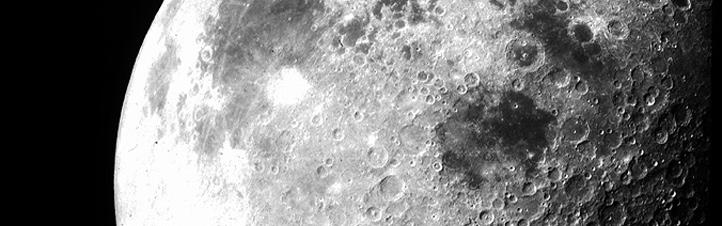 Der Mond, gesehen von den Astronauten der Mission Apollo 12.Bild: NASA