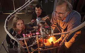 NASA-Experten ist es gelungen, Bausteine des Lebens – genauer die Substanz Uracil – im Labor herzustellen. Bild: NASA (D. Hart)