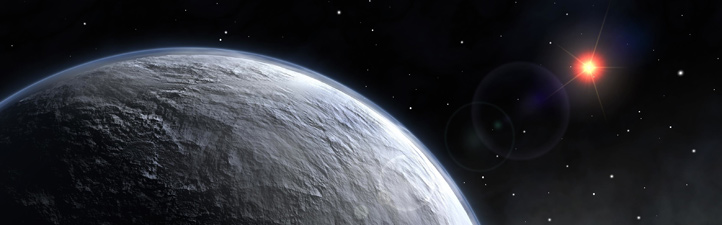 Ein Exoplanet umkreist seine Sonne – künstlerische Darstellung. Gibt es auf solchen Planeten fern unseres Sonnensystems außerirdisches Leben? Bild: ESO