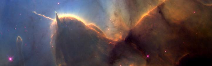 Im 5.000 Lichtjahre entfernten Trifid-Nebel formt sich aus den Überresten alter Sterne eine neue Generation von Sonnen. Bild: NASA, ESA, STScI