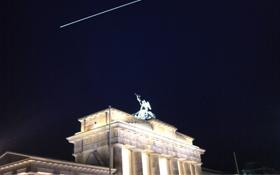 Die ISS über dem Brandenburger Tor in Berlin. Bild: Henning Krause (CC-BY-SA 3.0)