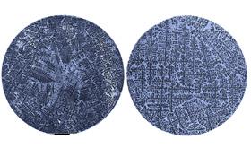 Metallproben unter dem Mikroskop: Man erkennt die Kristallstruktur, die an Tannenbäume erinnert. Bild: DLR