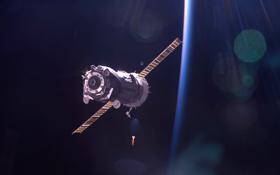 Ein Sojus-Raumschiff nähert sich der ISS. Bild: NASA