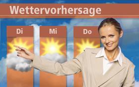 Auch für die zuverlässige Vorhersage des Wetters sind Satelliten wichtig. <BR>Bild: Photos.com