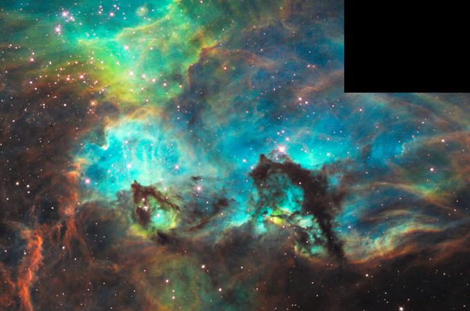 Hubble teleskop erspäht Überreste einer supernova heise online