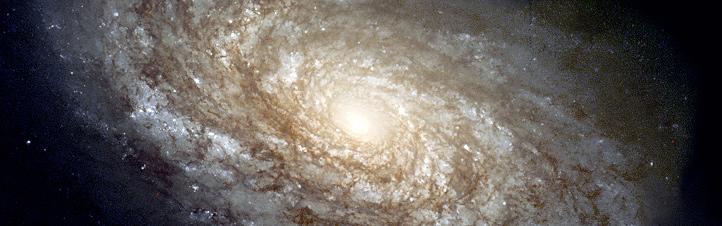 So ähnlich wie diese Galaxie sieht auch unsere Milchstraße aus. Bild: NASA, ESA, STScI