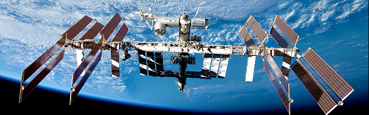 Die Internationale Raumstation ISS. Bild: NASA