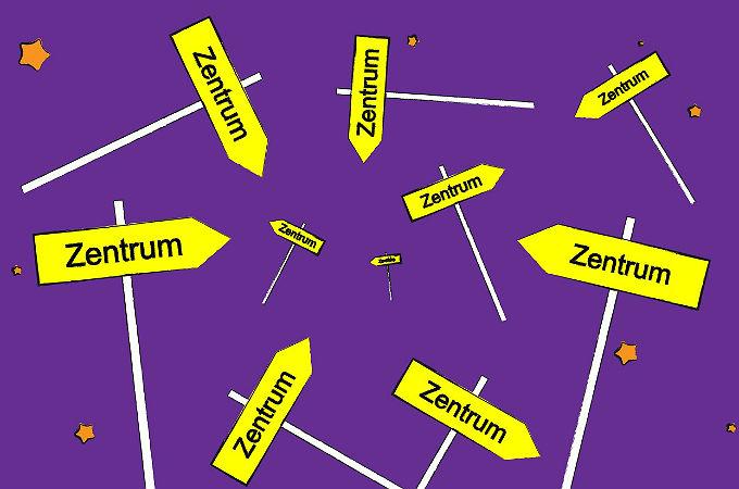 Wo ist das Zentrum des Universums? Die Antwort: Überall und nirgends …