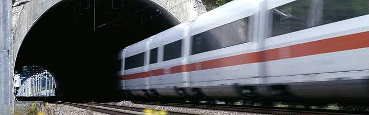Wenn Züge durch Tunnel fahren, passieren viele Dinge, an die man als Passagier gar nicht denkt. Bild: Deutsche Bahn AG (G. Jazbec)