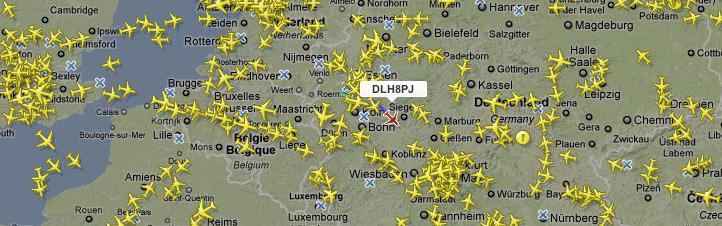 Dlr Next Fast Wie Im Tower Live Map Mit Flugzeugen