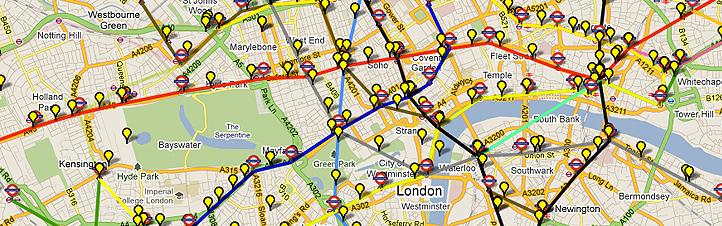 """Der schnellste Weg in London voranzukommen: mit der U-Bahn – auch """"Tube"""