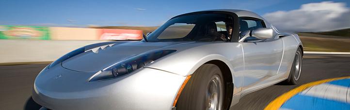 Elektro-Autos gehört die Zukunft – denn sie produzieren keine Abgase. Bild: Tesla Motors
