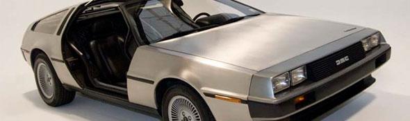 """Dieser Sportwagen – ein """"De Lorean"""" – hat es sogar zum Filmstar gebracht: Das Auto spielt im Kinofilm """"Zurück in die Zukunft"""" eine Hauptrolle. Bild: Gordini60"""
