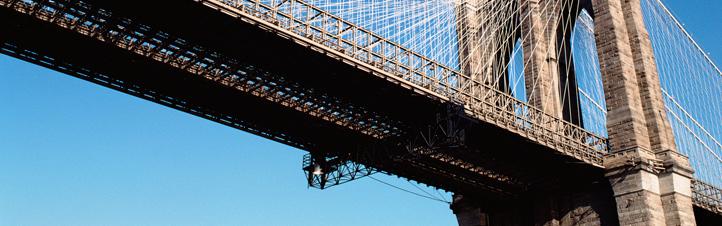 Die Brooklyn Bridge in New York ist eine der berühmtesten Hängebrücken der Welt. Bild: Photos.com