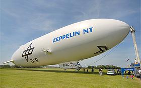 Zur Verkehrsbeobachtung aus der Luft wird bei Mega-Events auch ein Zeppelin eingesetzt. Bild: DLR
