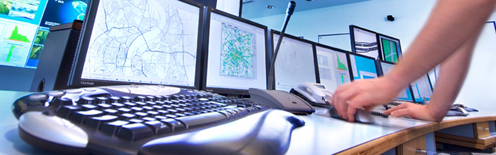 Das Web-Portal DELPHI hilft Einsatzkräften den Überblick zu behalten. Bild: DLR