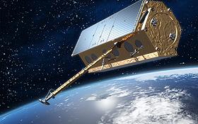 Der Satellit TerraSAR-X umkreist die Erde und liefert präzise Daten – auch über den Verkehr. Bild: DLR