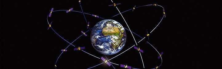 Satelliten-Navigation ist einfach zu benutzen. Dahinter stecken aber ultra-moderne High-Tech-Systeme, die in der Umlaufbahn arbeiten. Bild: ESA