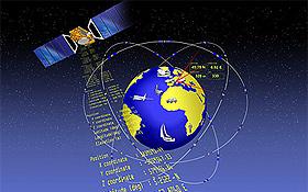 Satelliten übertragen Signale an einen Empfänger: So funktioniert ein Satelliten-Navigationssystem wie Galileo. Bild: ESA