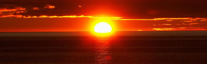 """Die Sonne: Sie sorgt für gute Laune – und sie ist ein """"Energie-Lieferant"""". Bild: Photos.com"""
