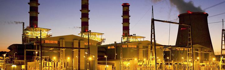 In Hybrid-Kraftwerken wird auch die Abwärme der Gasturbinen genutzt, um Strom zu erzeugen. Bild: Siemens