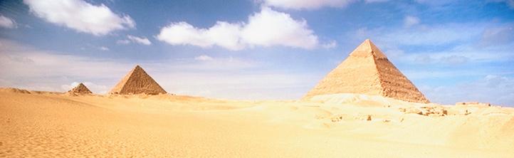 Verglichen mit dem Alter der Pyramiden in Ägypten sind zehn Jahre keine Ewigkeit. Spätestens dann soll der Sonnenstrom aus der Wüste Nordafrikas zu uns kommen. Bild: Photos.com