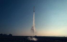 Eine Wasserrakete beim Start. Bild: Raketfued