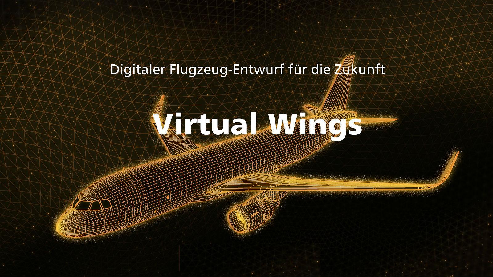 """Das eigene Flugzeug entwerfen und dann im """"Testflug"""" erproben – das ist die Aufgabe dieses digitalen Lernspiels des DLR, das sich """"Virtual Wings"""" nennt. Bild: DLR"""