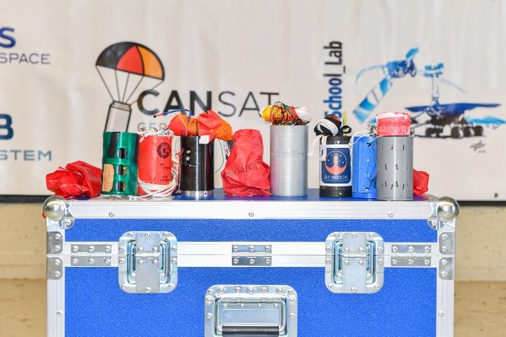 Der Minisatelliten-Wettbewerb CanSat startet wieder! Bild: DLR