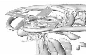 10.4 Hubschrauber mit Muskeln Animation