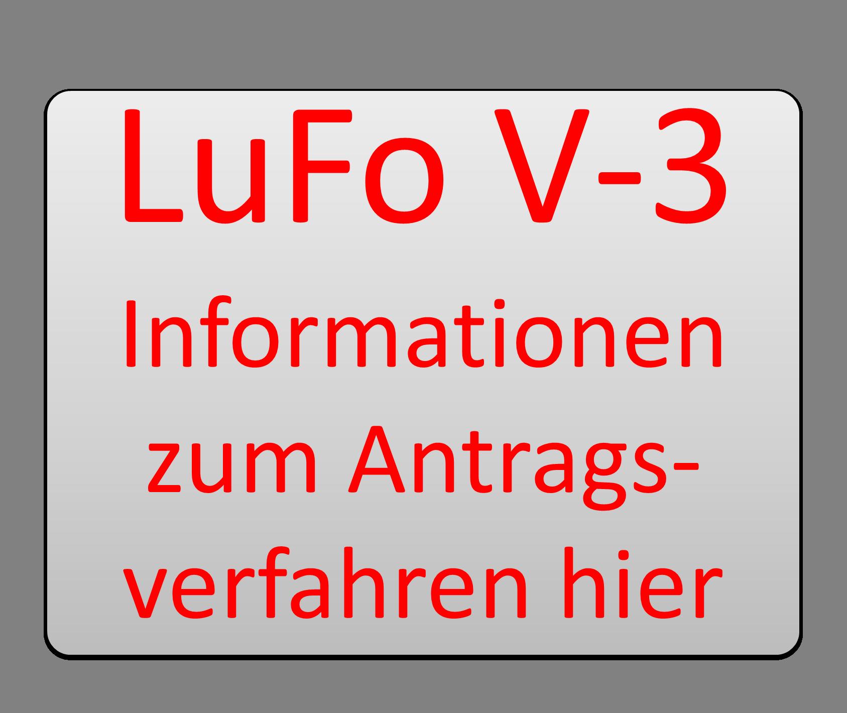 Teaser LuFo V-3 Antragsverfahren