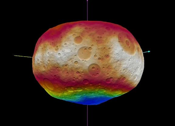 Animation von Vesta