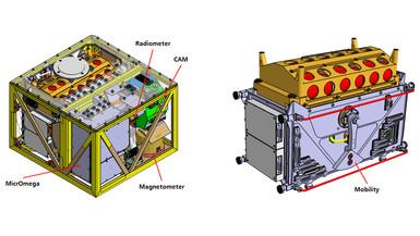 CAD%2dZeichnung des MASCOT%2dGesamtsystems