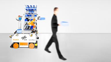 DLR AIMM – autonomer mobiler Manipulator für industrielle Anwendungen
