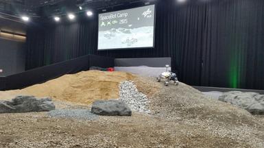 LRU bei der Teilnahme am SpaceBot Camp 2015
