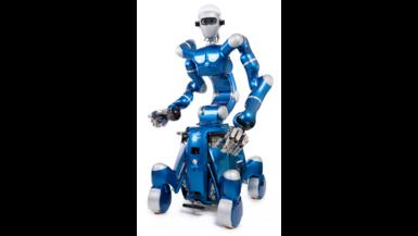 Der humanoide Roboter Rollin' Justin