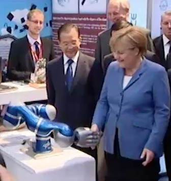 German Chancellor with LBR