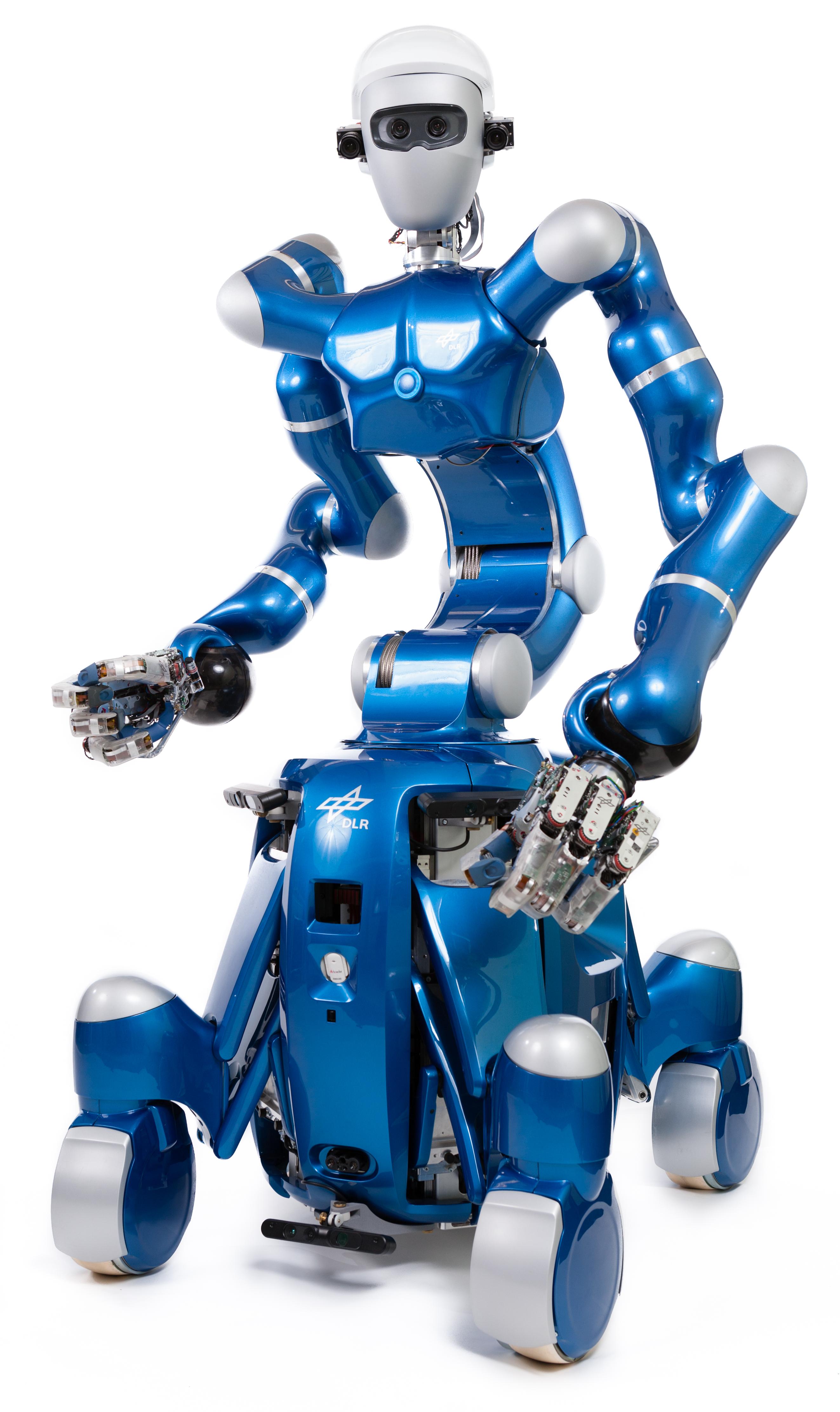 DLR - Institute of Robotics and Mechatronics - Rollin' Justin