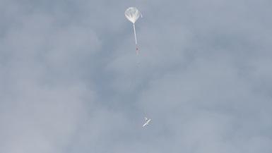Takeoff via balloon