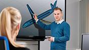 Dominik Schneider optimiert Workflows für Softwarelösungen