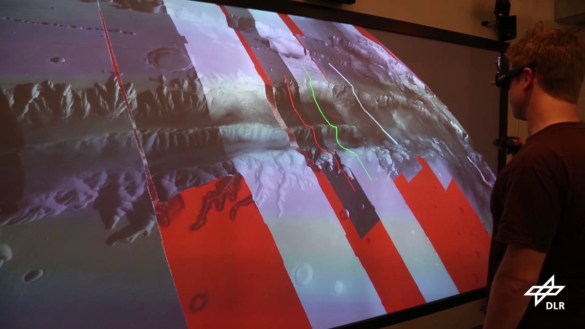 Interactive Mars Rendering