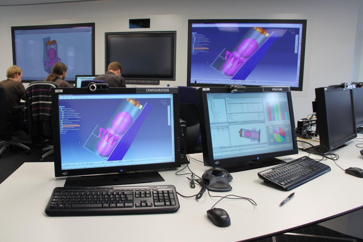 Virtual Satellite 3 in the CEF