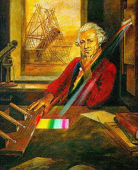 Friedrich Wilhelm Herschel (1732 –1822) entdeckte durch Zufall die Infrarotstrahlung. Bild: NASA/IPAC