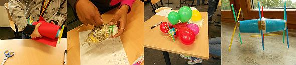 Wie funktioniert eine sichere Landung? Wenn etwas so zerbrechliches wie ein Ei einen Abwurf überleben soll, muss es ausreichend geschützt sein. Im DLR_School_Lab sind die Schülerinnen und Schüler die Ingenieureinnen und Ingenieureund führen ein Landemanöver durch. Quelle: DLR (CC-BY 3.0).