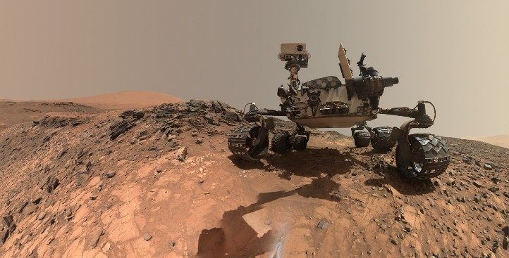Der Mars-Rover Curiosity erforscht seit Jahren den Roten Planeten. Bild: NASA/JPL-Caltech/MSSS