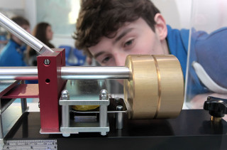 Das Seismometer im DLR_School_Lab Berlin (Credit: DLR)