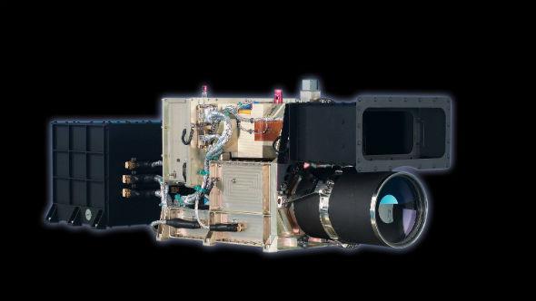 Die am DLR entwickelte High Resolution Stereo Camera (HRSC) nimmt seit 2003 den Mars auf, sogar in Farbe und 3D. Bild: DLR (CC-BY 3.0).