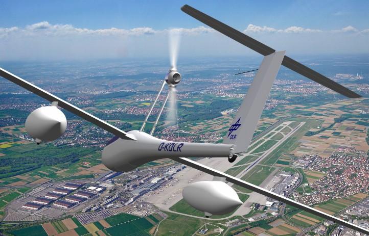 Das DLR-Forschungsflugzeug Antares DLR-H2 ist das weltweit erste startfähige, pilotgesteuerte Flugzeug mit Brennstoffzellenantrieb. Bild: DLR/Flughafen Stuttgart.